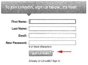 Linked in old registration