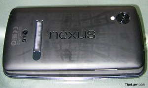 Nexus Phone Back